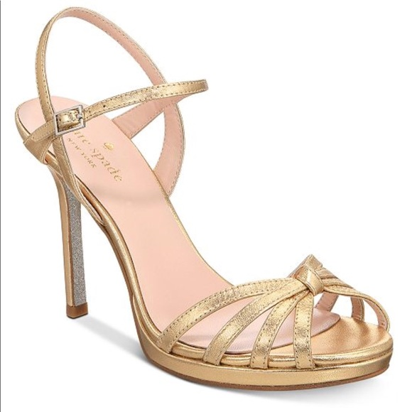 d9d977bb1e1 kate spade Shoes - Kate Spade Florence Strappy Evening Sandal Heels